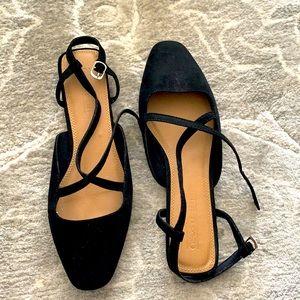 ASOS Faux Suede Strappy Sandals